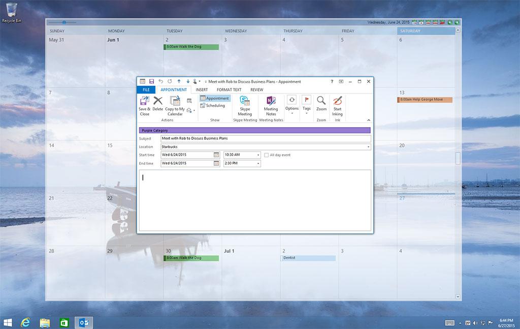 Windows 7 Outlook on the Desktop 4.0.152 full